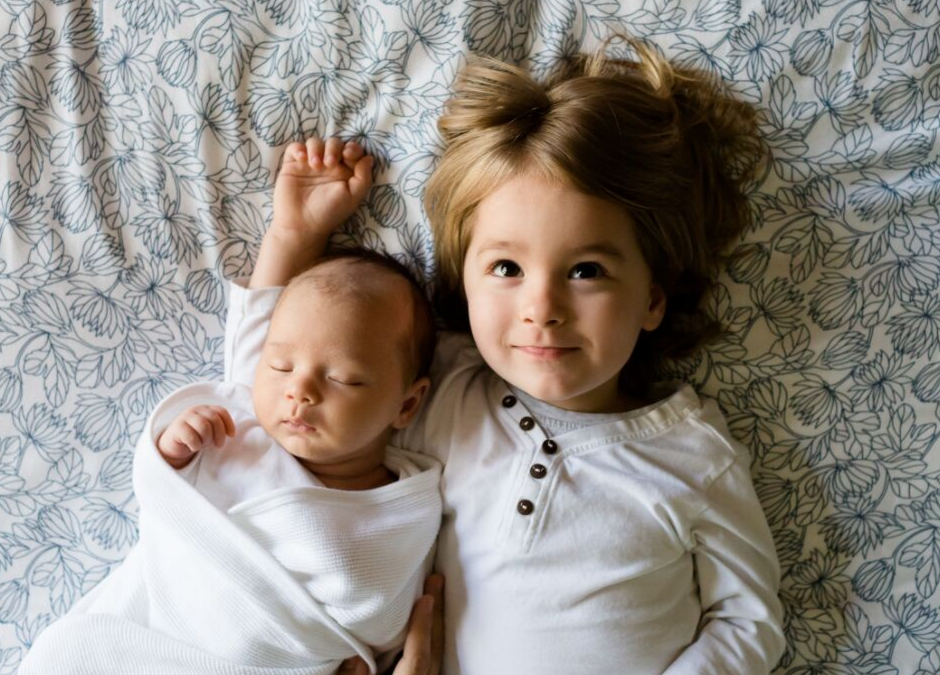 Sleep Training Baby with Older Siblings is a Thing